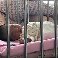 昨天剖腹产下二胎,男宝一个,现在儿女双全了。